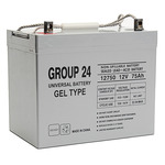 SLA UPG UB-24 GEL - AGM Battery - Sealed Lead Acid - 12 Volt - 75 Ah Capacity - Z1 Terminal