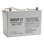 SLA UPG UB-27 GEL - AGM Battery - Sealed Lead Acid - 12 Volt - 90 Ah Capacity - Z1 Terminal