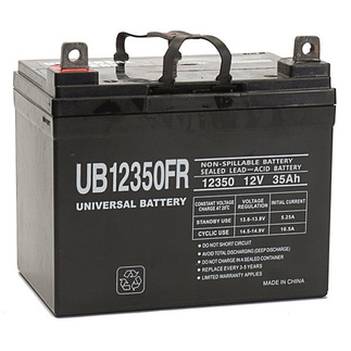 SLA UPG UB12350FR - AGM Battery - Sealed Lead Acid - 12 Volt - 35 Ah Capacity - L1 Terminal