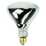 125 Watt - R40 - Heat Lamp - 120 Volt - 5,000 Life Hours - Medium Base - Infrared Light Bulb - Satco S4750 Infrared Heat Lamp