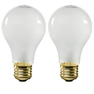 95 Watt - Frosted - A19 Light Bulb - 120 Volt - 750 Life Hours - Energy Efficient - Satco S2514 Standard Light Bulb