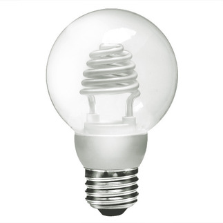 Dimmable - 3 Watt - G25 CCFL - 15-20 W Equal - 2700K Clear - 82 CRI - 40 Lumens per Watt - 25,000 Life Hours - 24 Month Warranty - TCP CCG2503CL2