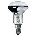 40 Watt - NR50 Spot - Frosted - 50 mm - 125-130 Volt - European E14 Base - Philips 149855