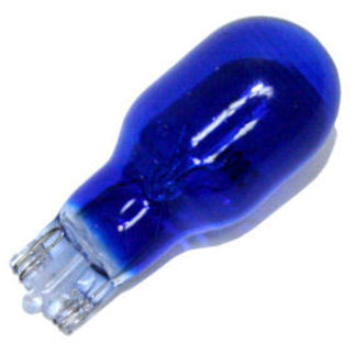 (10 Pack) 906B Miniature Indicator Lamp - Blue - 13 Volts - T5 Midget Wedge Base - Eiko 906B