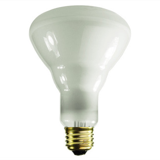60 Watt - BR30 - Reflector Flood - 130 Volt - Medium Base - Incandescent Light Bulb - Satco S4401