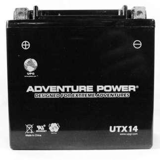 UPG 42017/46032 - OEM YTX14-BS - Motorcycle Battery