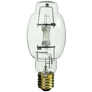 400 Watt - BT28 - METALARC - Pulse Start - Metal Halide - Unprotected Arc Tube - 4000K - ANSI M155/E - Universal Burn - M400/PS/U/BT28 - Sylvania 64188
