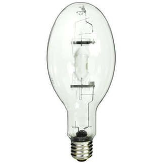 400 Watt - ED37 - Pulse Start - Metal Halide - Unprotected Arc Tube - 4100K - ANSI M155/M128/M135/S - Base Up Burn - MS400/BU/PS - Philips 27816-8
