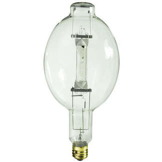 1500 Watt - BT56 - SportStar Multi-Vapor - Metal Halide - Unprotected Arc Tube - 4000K - ANSI M48 - Universal Burn - VR1500/U/SPORTS - GE Lighting 47326