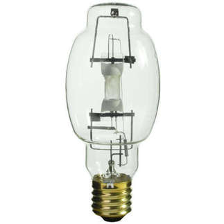 400 Watt - BT28 - Multi-Vapor - Metal Halide - Unprotected Arc Tube - 4200K - ANSI M59 - Horizontal - MVR400/HOR/BT28 - GE Lighting 40201