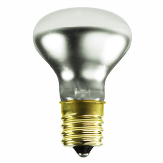 40 Watt - R14 Long Neck - Reflector Flood - 120 Volt - Intermediate Base - Incandescent Light Bulb - Satco S3215 R14 Flood Light