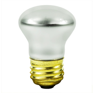40 Watt - R14 Long Neck - Reflector Flood - 120 Volt - Medium Base - Incandescent Light Bulb - Satco S3605 R14 Flood Light