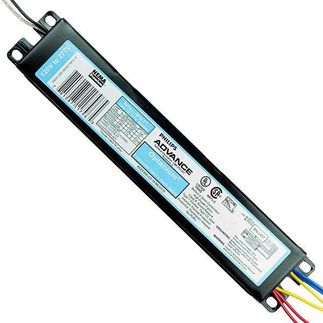 Advance Optanium Step-Dim IOP2S2895SCSD35M - 120/277 Volt - Programmed Start - Ballast Factor 0.95 - Power Factor 98% - Min. Temp. Rating 32 Deg. F - Operates 2 F28T5 Fluorescent Lamps