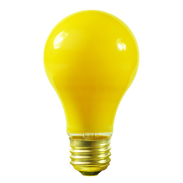 Satco S6093 25 Watt Yellow Bug Light