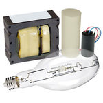 Advance AS205WQUADVPK - 205 Watt - Pulse Start CDM - Lamp and Ballast Kit - ANSI C184 ALLSTART - 4 Tap - Includes Dry Capacitor, Ignitor, Bracket Kit, and Lamp