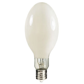 360 Watt - ED37 - Multi-Vapor - Metal Halide - Protected Arc Tube - 3700K - EX39 Mogul Base - White Coated - ANSI M59/O - Vertical Base Up - MPR360CVBUWMHO/O