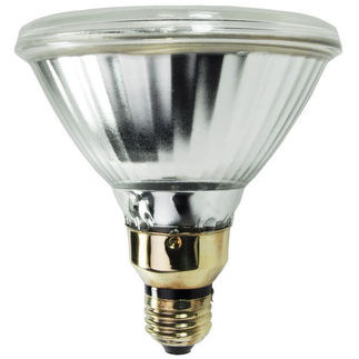 70 Watt - PAR38 Wide Flood - Constant Color - Pulse Start - Metal Halide - Protected Arc Tube - 3000K - Medium Base - ANSI M143/M98/O - Universal Burn - CMH70PAR38WF/ECO