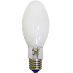 100 Watt - ED17 - PulseArc Multi-Vapor - Pulse Start - Metal Halide - Protected Arc Tube - 3200K - Medium Base - White Coated - ANSI M90/O - Universal Burn - MXR100/C/U/MED/O