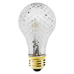 75 Watt - A19 - Crystal - 120 Volt - Halogen Light Bulb - 75MB/CAP/120V - Sylvania 18969