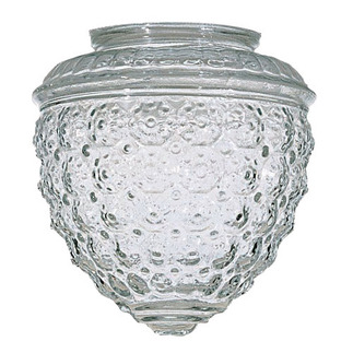 Clear Pineapple Glass - Satco 50112