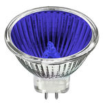 Bulbrite 637120 - 20 Watt - MR11 - Blue - GU4 Base - 2,000 Life Hours - 12 Volt