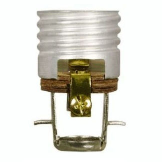 660 Watt - 250 Volt - 2 in. Keyless Medium Base Socket - 1/8 IP - Screw Terminal Mount with Paper Liner - Satco 90-405