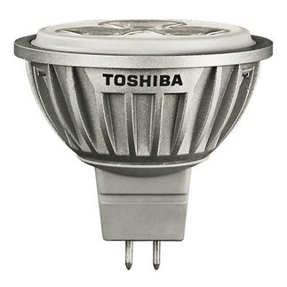 LED - 6.2 Watt - MR16 Spot - 12V - GU5.3 Base - 5600 CBCP - Compares to 25 Watt Halogen - 3000K - 8 Degree Beam Angle - 25,000 Life Hours