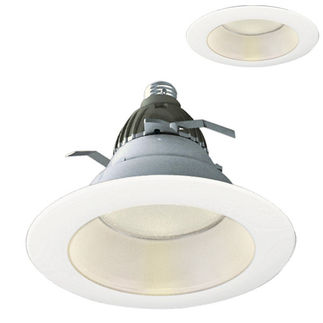 Cree CR6 - Screw-In Base - 575 Lumens - 9.5 Watt - LED - Warm White - 90 CRI - Dimmable - Fits 6 in. Can Fixtures