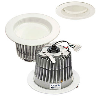 (277 Volt) Cree LR6-277V - Wire-In - 650 Lumens - 10.5 Watt - LED - Warm White - 92 CRI - Fits 6 in. Can Fixtures