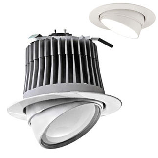 Cree LE6-GU24 - GU24 Base - 500 Lumens - 12 Watt - LED - Warm White - 92 CRI - Dimmable - Adjustable - Fits 6 in. Can Fixtures