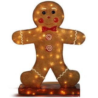 Illuminated - Gingerbread Boy - 31 in. - Barcana 57-1081
