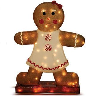 Illuminated - Christmas Gingerbread Girl