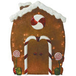 Illuminated - Gingerbread House - 44 in. - 135 Bulbs - Barcana 57-1091