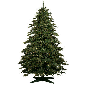 10 ft. Alaskan Deluxe Fir Christmas Tree - Ready Trim