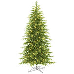 Pre-Lit Belvedere Slim Fir Christmas Tree