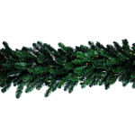 2 x 9 ft. Giant Commercial Garland - Ready Trim - Clear Lights
