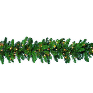 16 x 9 ft. Deluxe Garland - Northern Branch - Clear Lights