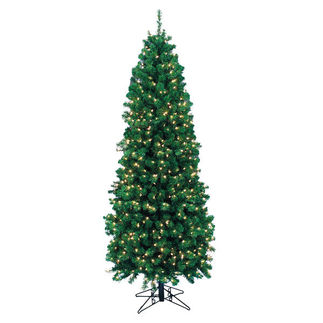 6 ft. Pre-Lit Northern Cypress Christmas Tree - 350 Bulbs - 638 Tips - Ready Shape Trim