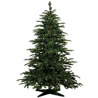 7.5 ft. Star Fir Christmas Tree - Ready Trim