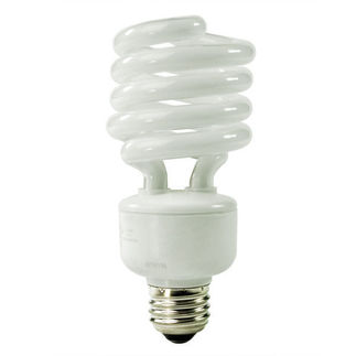 (277 Volt) 27 Watt - 100 W Equal - Full Spectrum 5100K - CFL Light Bulb