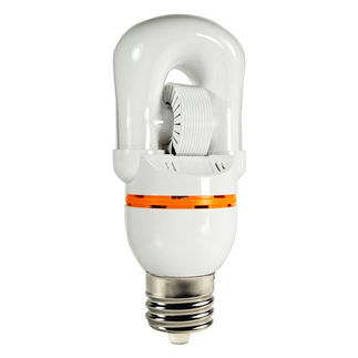 40 Watt - Self-Ballasted Induction Lamp - 277 Volt - 5000K - 60,000 Life Hours - Mogul Base