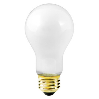 100 Watt - Frosted - A21 Light Bulb - 130 Volt - 5,000 Life Hours - Halco 103576 Standard Light Bulb