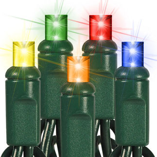 Multi-Color LED Wide Angle Mini Lights