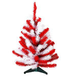 24 in. University of Nebraska Corn Husker PVC Christmas Tree - Sterling 91511024Ne