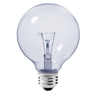 Neodymium - 40 Watt - 5000 hrs - 120 Volt - Clear -  G25 Globe - 4 3/8 in. Lg - Medium Base - Bulbrite 711140