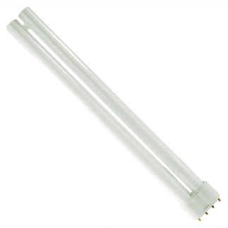 GE Lighting 30615 - F24BX/830 - 24 Watt - 4 Pin 2G11 Base - 3000K - CFL