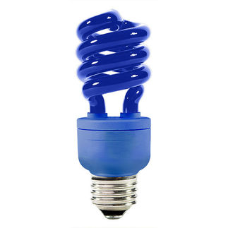 Shop for Blue Colored CFL - 13 Watt