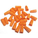 Orange Wire Nuts - Wire Connector - 100 Pack - PLT ORWIRENUT