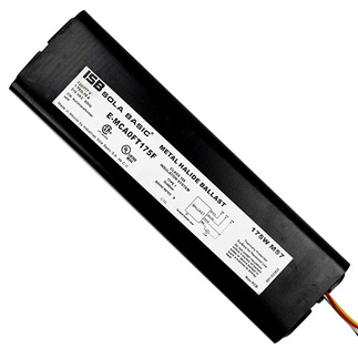 Sola E-MCA0FT175F - 175 Watt - F-Can Metal Halide Ballast - 120 and 277 Volt - ANSI M57 or H39 - Power Factor 90%