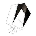 Aluminum Glare Shield for 16 in. Flood Fixture - PLT 26950